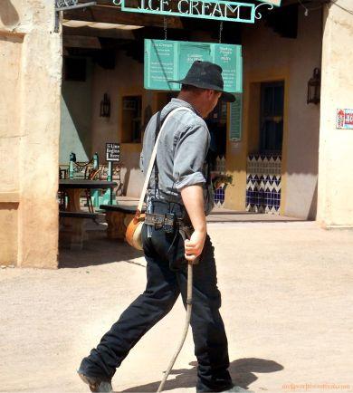 Old Tucson Studios Stuntman
