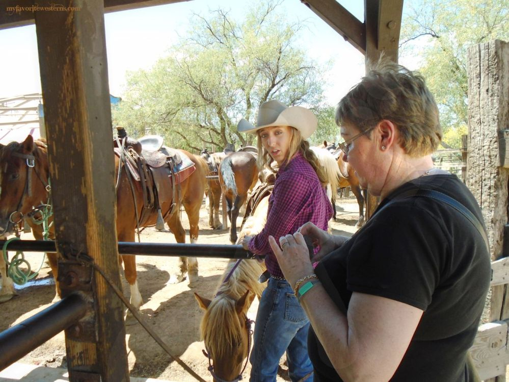 Old Tucson Studios  Trail Ride