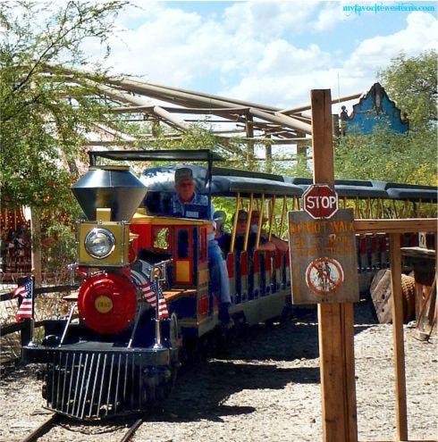 Old Tucson Studios Train ride