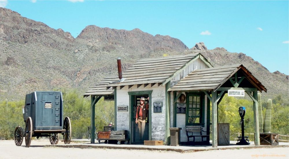 Old Tucson Studios Train Station