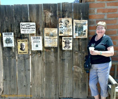 Old Tucson Studios wanted posters