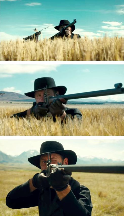 slow west the rifle