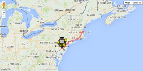 HITCHBOT US MAP