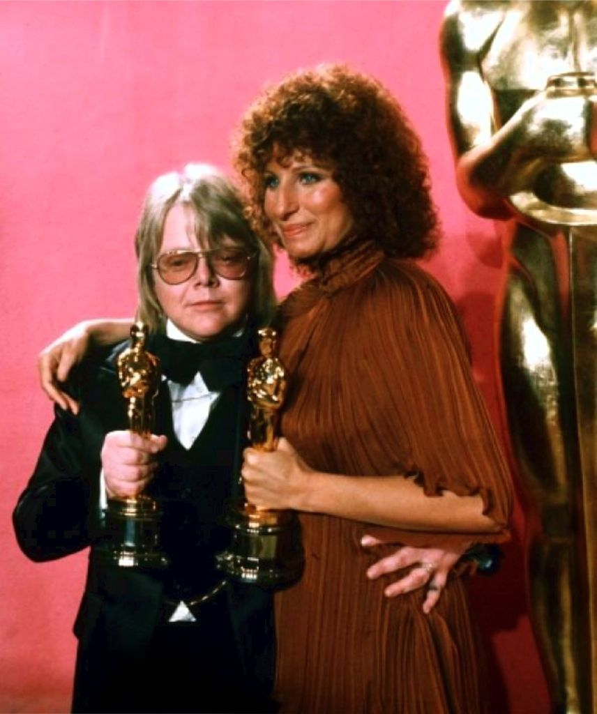 Paul Williams and Barbra Steisand