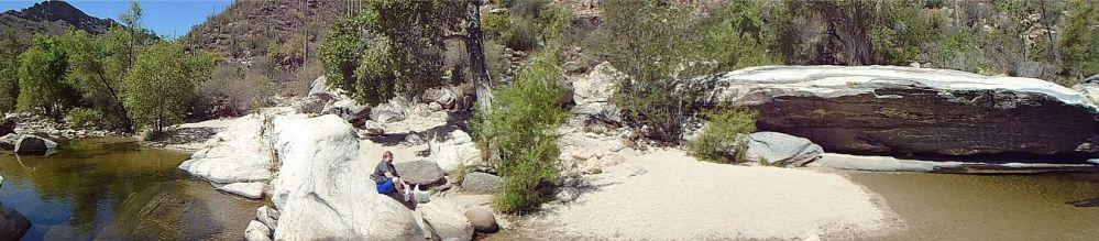 Sabino Canyon dip