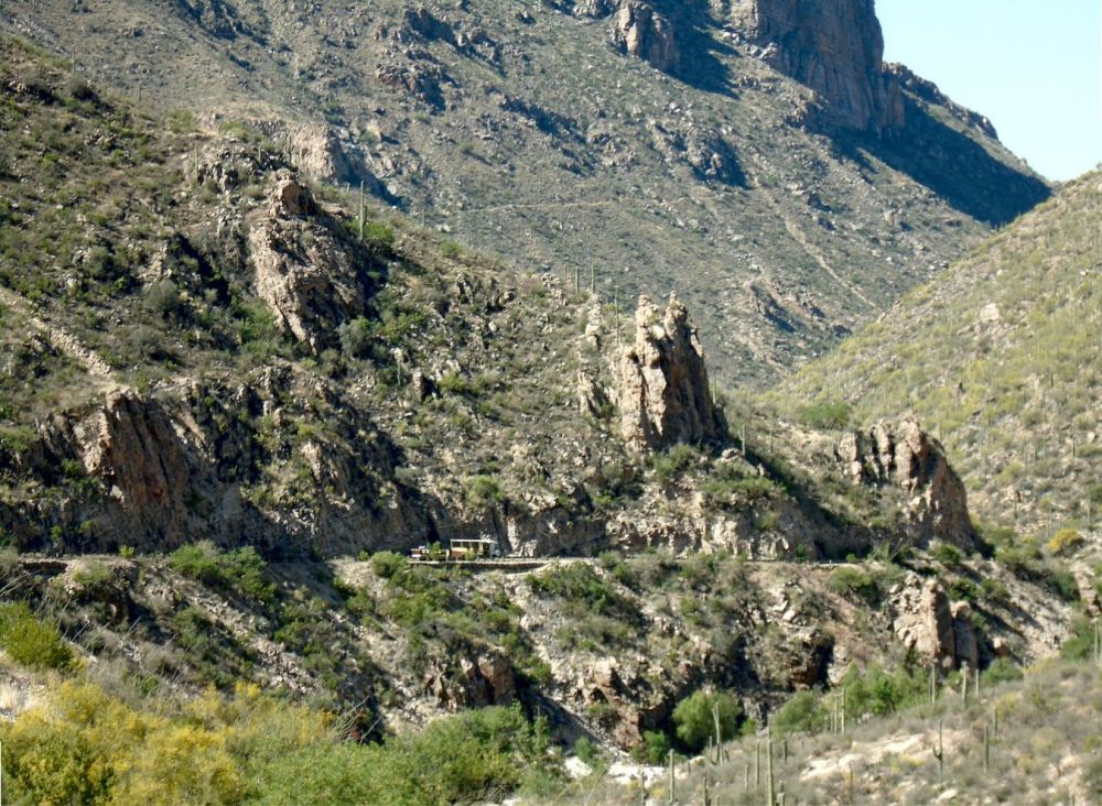 Sabino Canyon Tram and High Trail