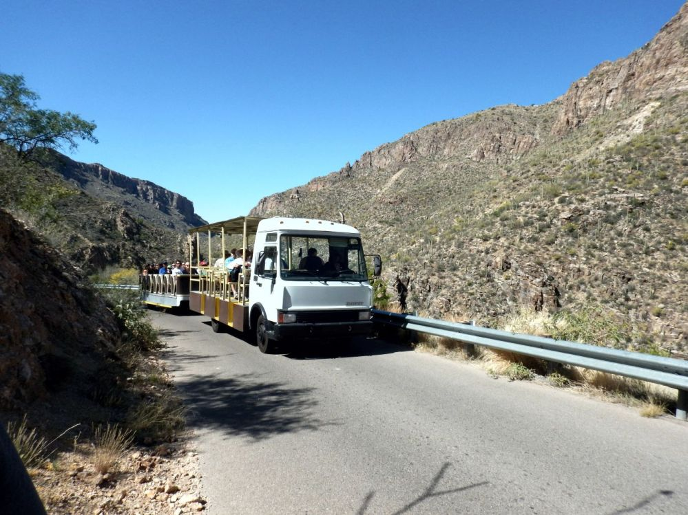 Sabino Canyon - tram