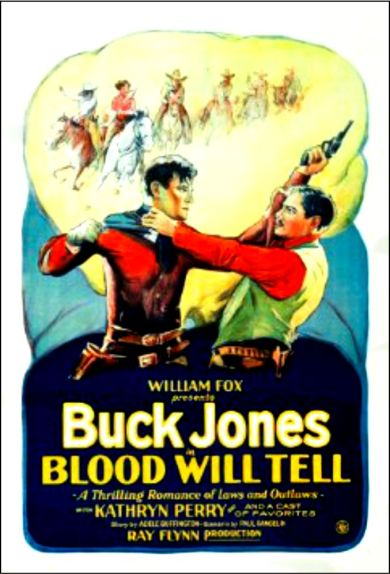 Blood will Tell (1927)