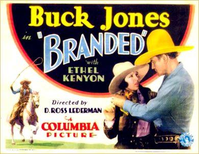 buck jones branded 1931