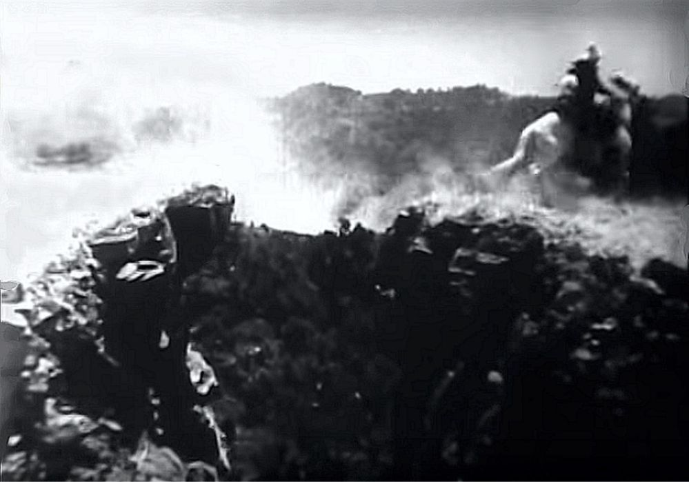 Buck Jones cliff jump 15
