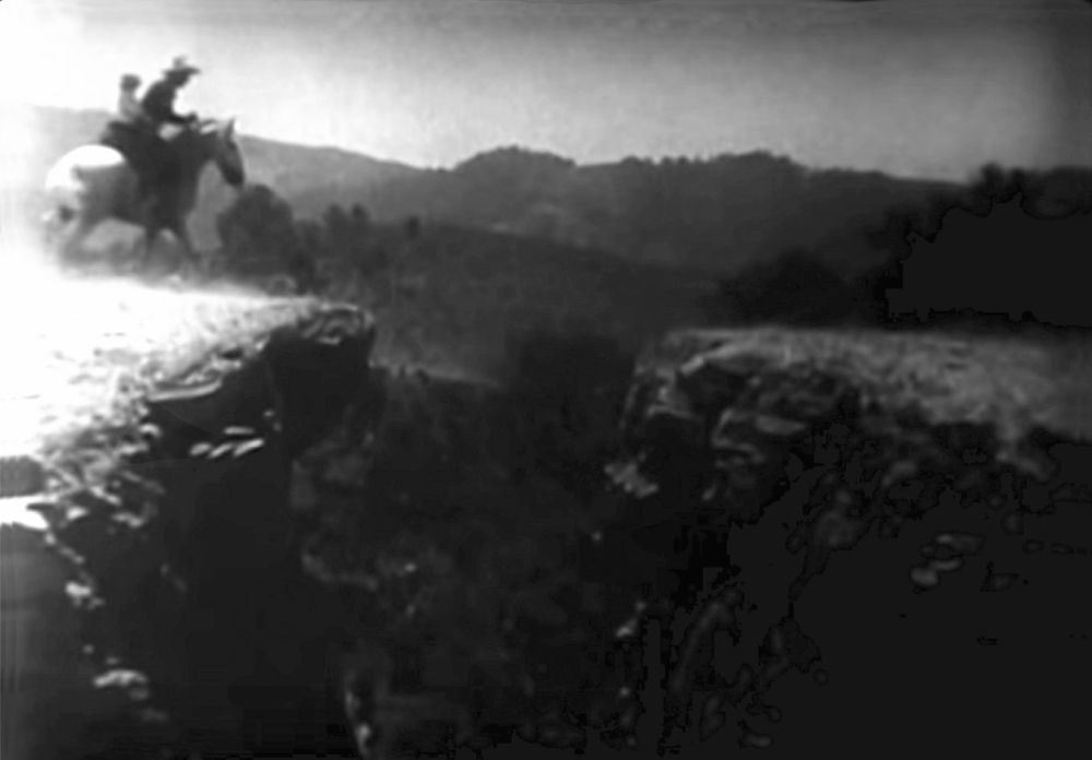 Buck Jones cliff jump 2