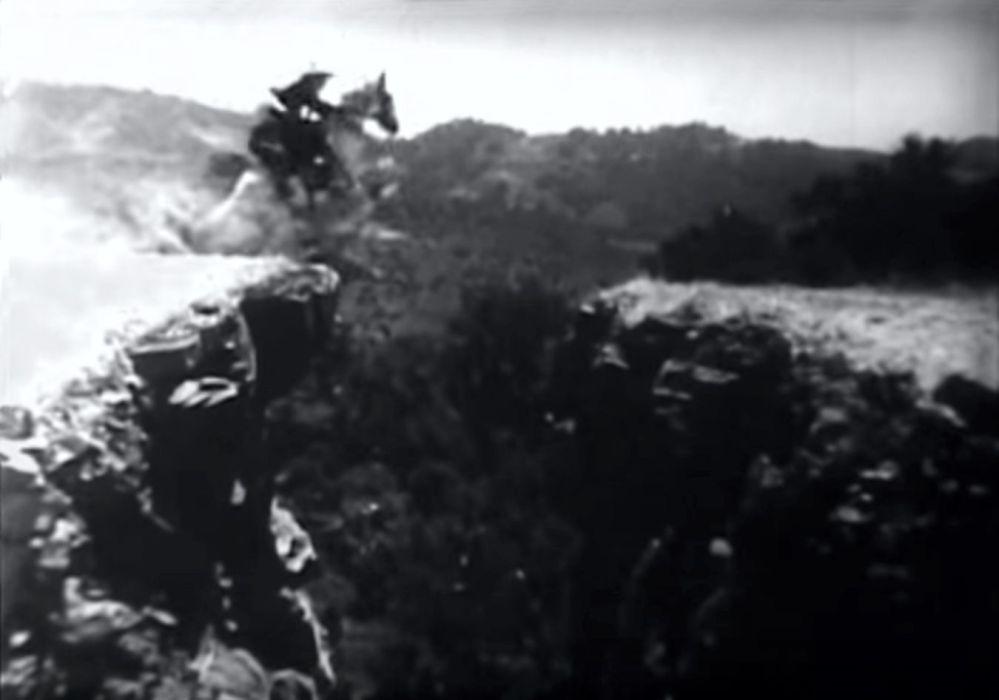 Buck Jones cliff jump 6
