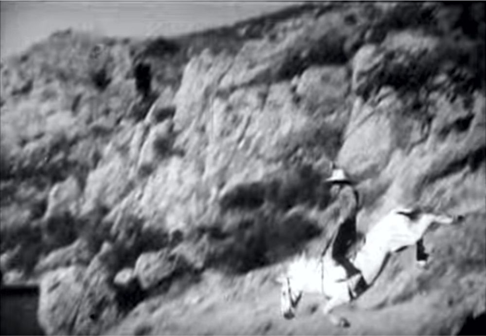 Buck Jones old time stunt 3
