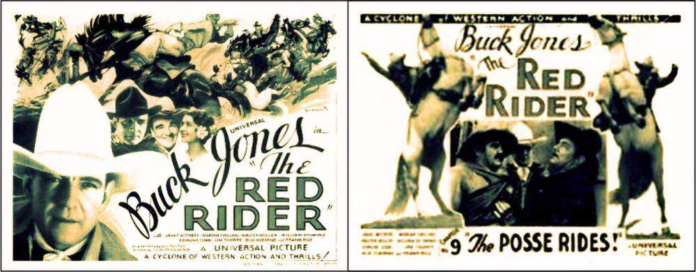Buck Jones Serial Red Rider
