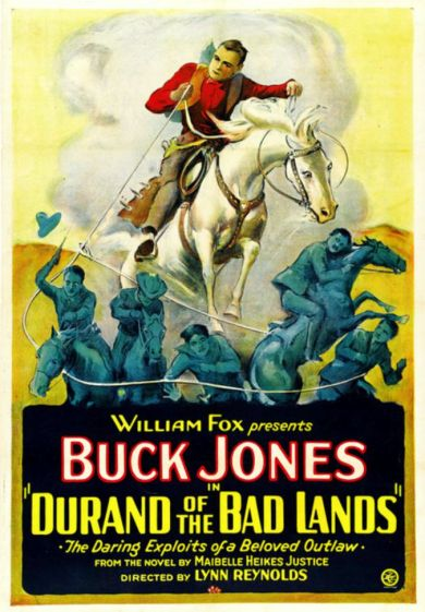 Durand of the Badlands (1925)
