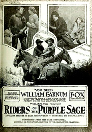 Riders of the Purple Sage 1918 2