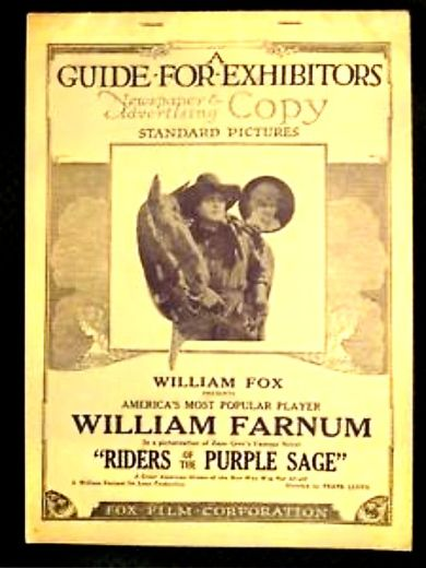 Riders of the Purple Sage 1918