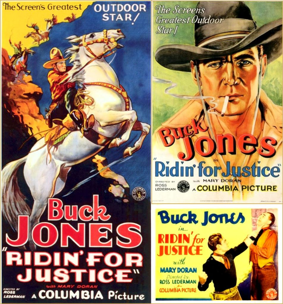 Ridin for Justice 1932