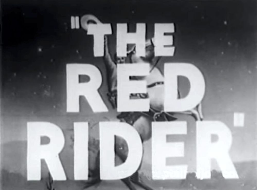 Buck Jones Red RIder