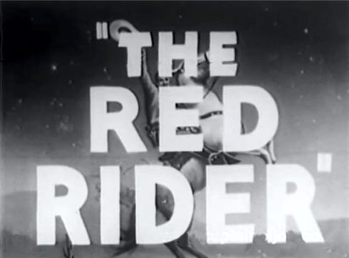 Buck Jones Red RIder