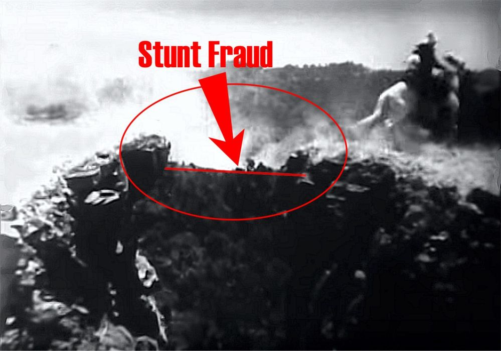 Buck Jones stunt fraud
