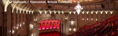 Orpheum Theatre - Vancouver 2