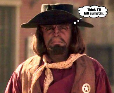 Worf Cowboy