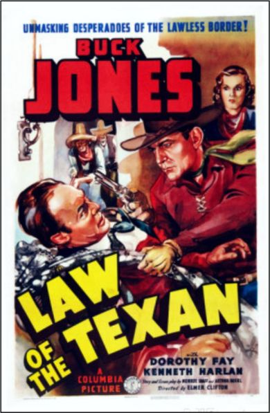 1938 Law of the Texan