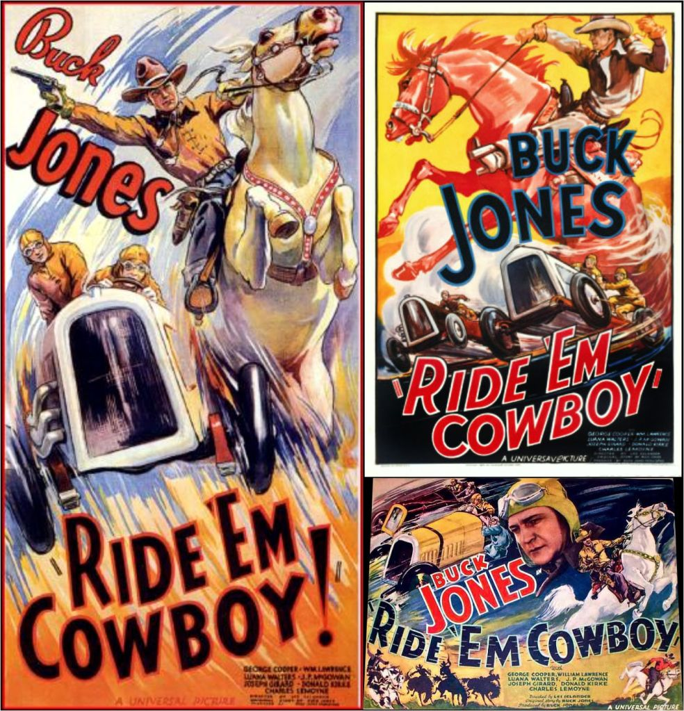 Ride 'Em Cowboy  1936