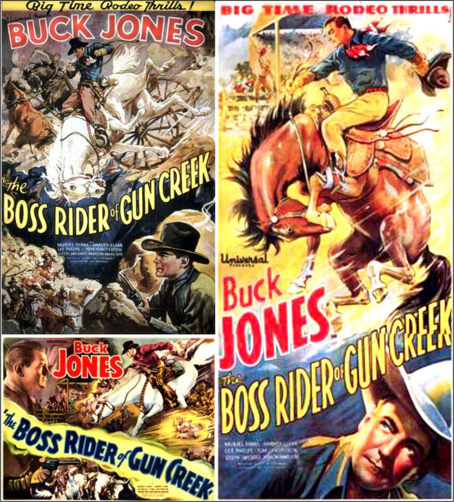 The Boss Rider of Gun Creek  1936
