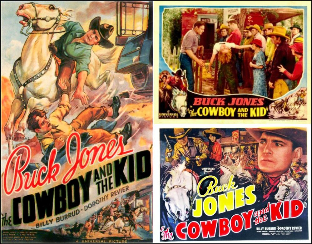 The Cowboy and the Kid 1936