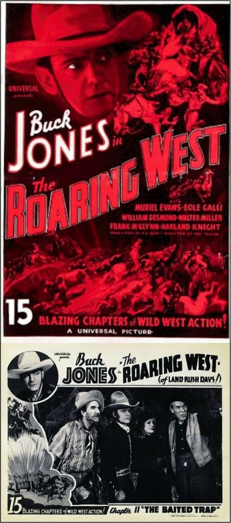 The Roaring West 1935