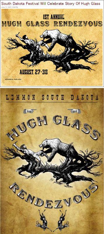 Hugh Glass Celebration ... Lemon, South Dakota