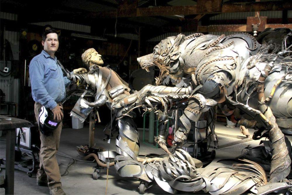 Hugh Glass Sculpture 2