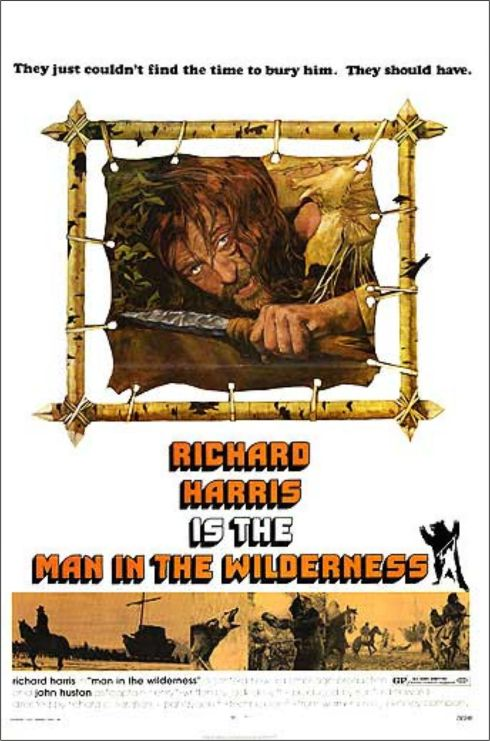 MAN IN THE WILDERNESS poster 1
