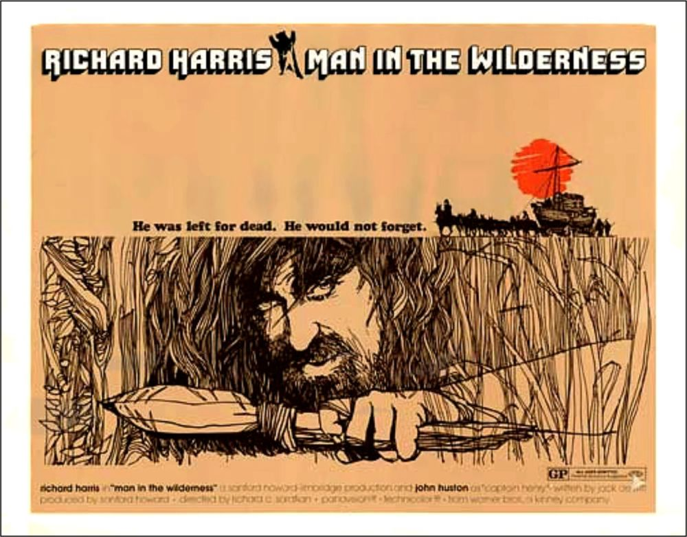 MAN IN THE WILDERNESS poster 2