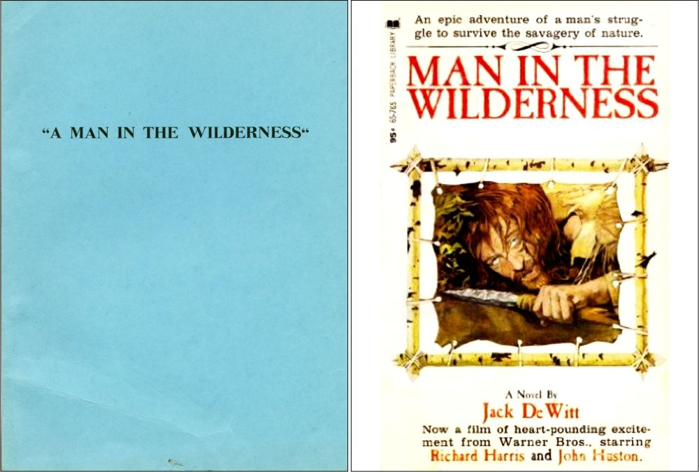 Man in the Wilderness script and novel