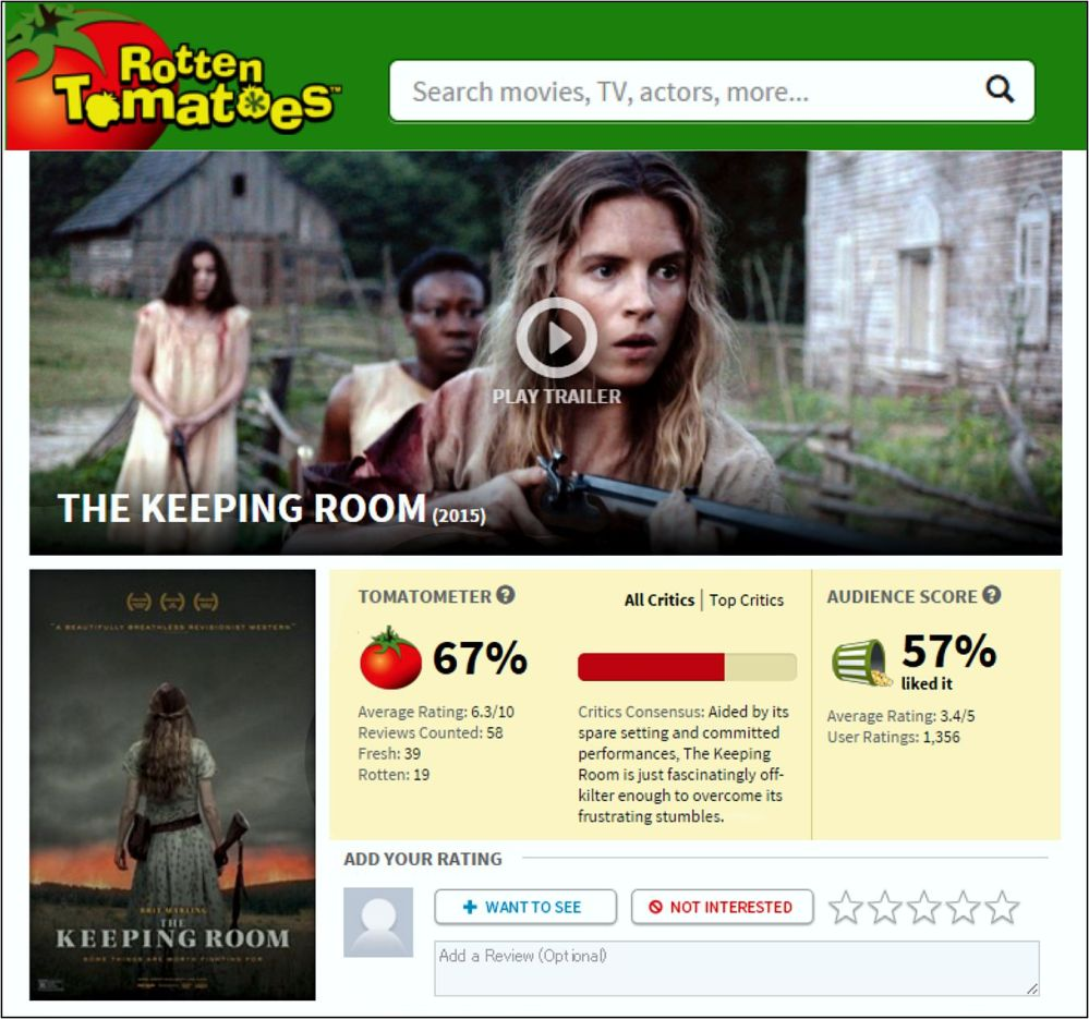 the keeping room review 2
