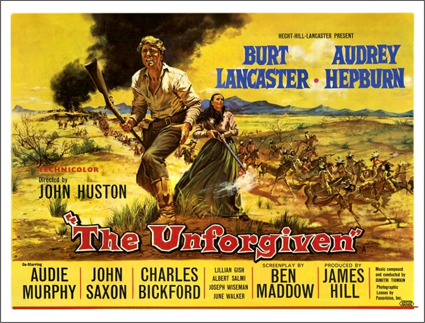 Unforgiven Poster Man in the Wilderness ...