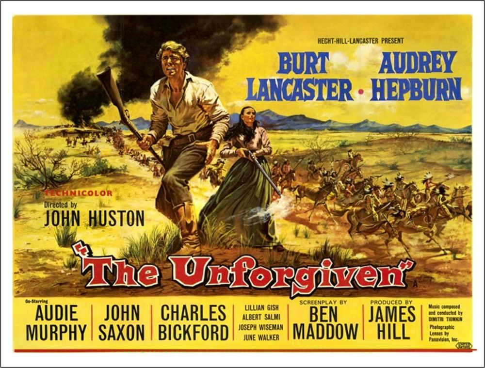 The Unforgiven - poster