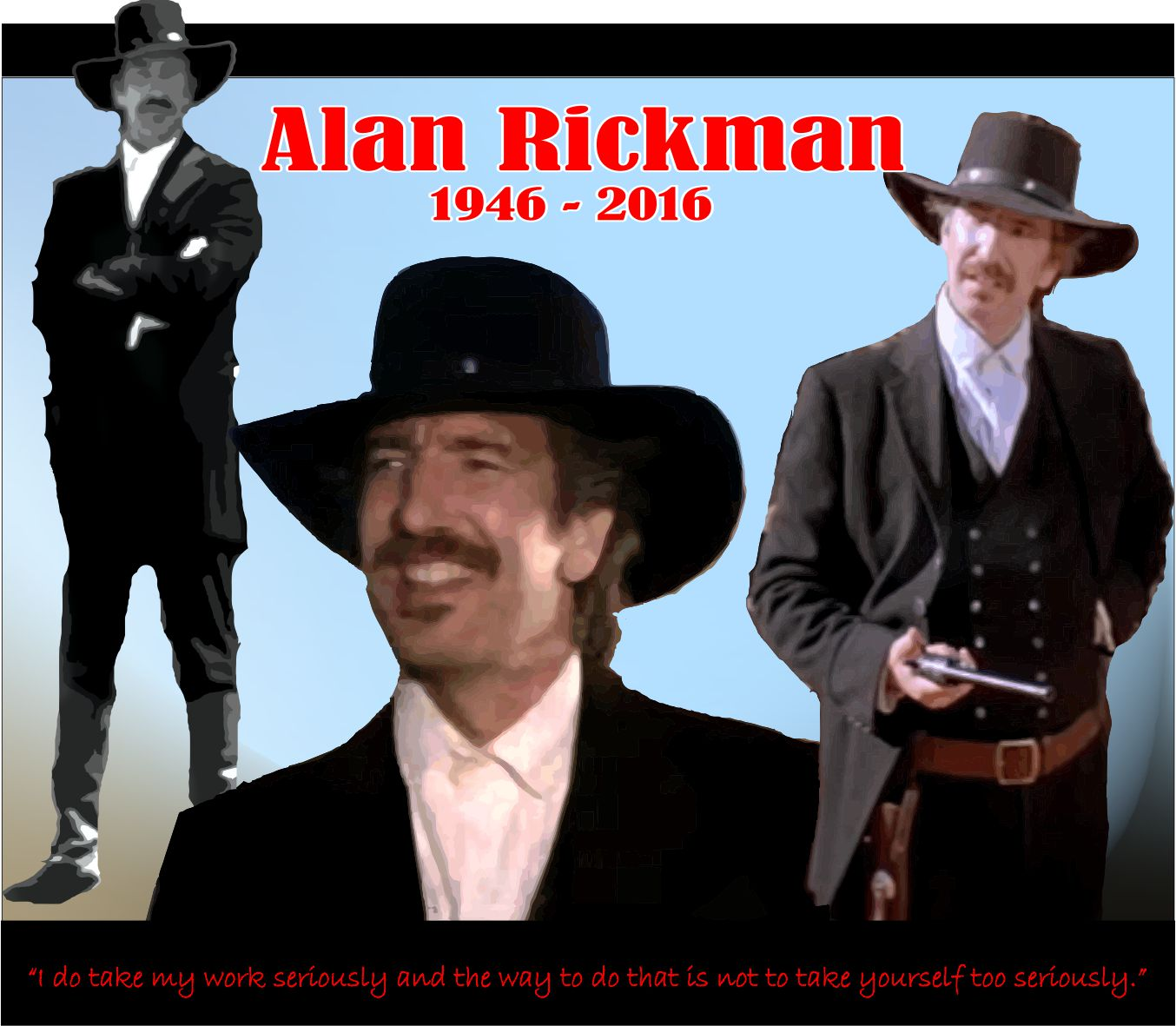 Alan Rickman \u2026 | My Favorite Westerns