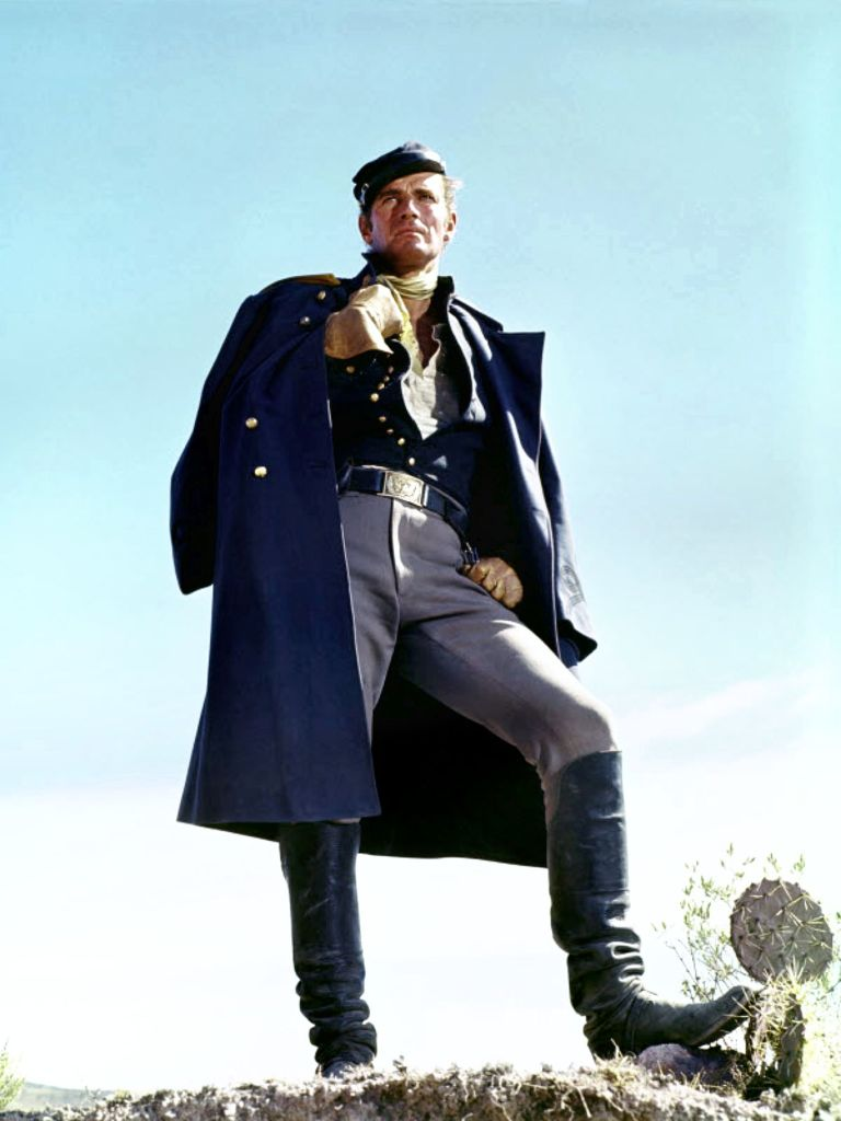Major Dundee Charleton Heston 5