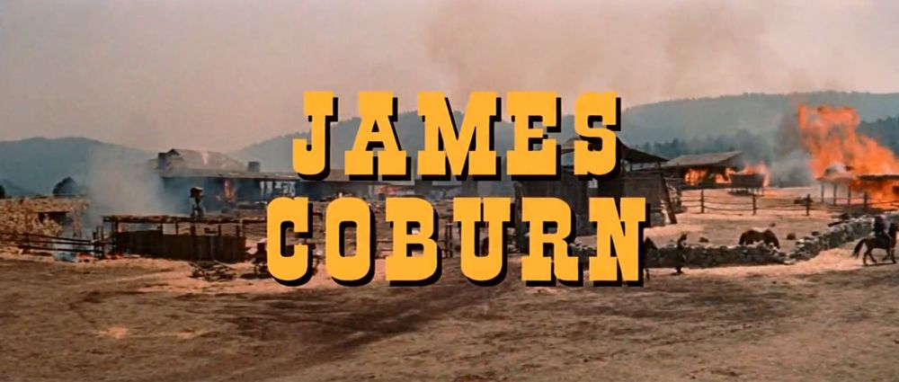 Major Dundee James Coburn