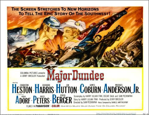 Major Dundee poster 2