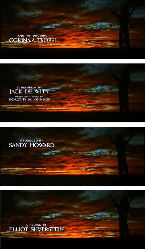 A Man Called Horse Cast and Credits 3
