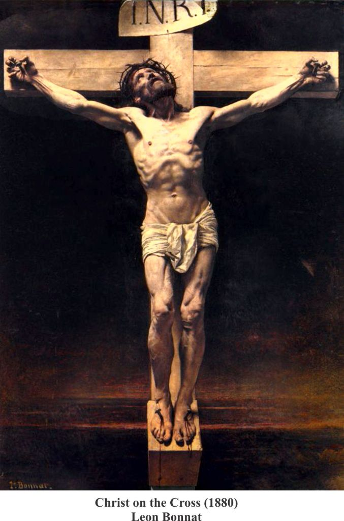 Christ on the Cross (1880) Leon Bonnat