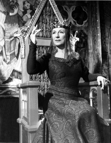 Dame Judith Anderson as Lady Macbeth