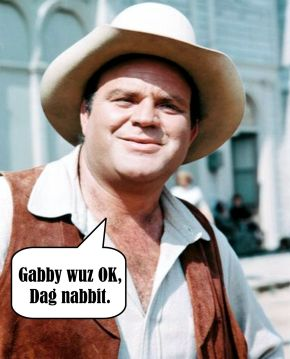 Dan Blocker on Gabby Hayes