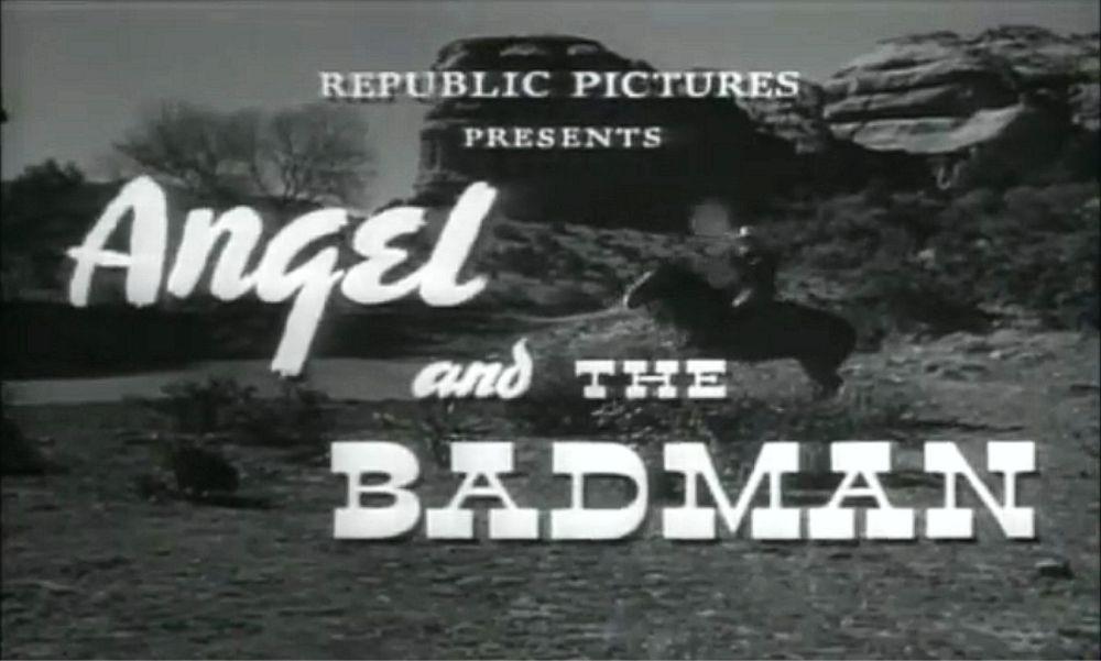 John Wayne Angel and the Badman 2