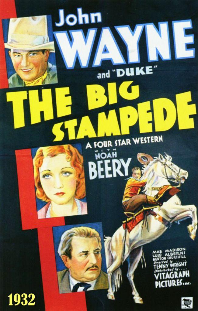 The Big Stampede 1932
